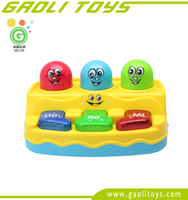 Baby musical keyboard B/O Whac-A-Mole game learning machine toy