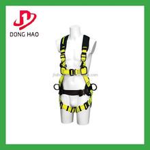 High strength adjustable full body safety belt full body harness
