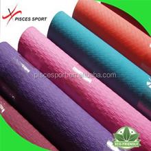 Natural rubber fitness yoga mat material