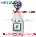 Hot wire anemómetro digital universal velocímetro electrónico