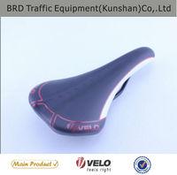 VELO Black Custom Mountain Bike Saddles For Men