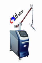 Goldstar_Professional colorful tattoo removal q switch machine hot sales type in beauty market: Model GS2010/A/B