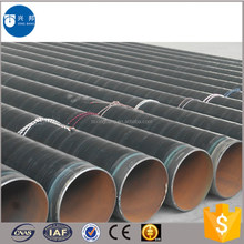 High quality polyethylene wrapped seamless steel pipe with epoxy powder coated for anti-corrosion used in America regions