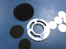 adhesive velcro hook and loop for medical bottle velcro dot