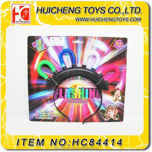 Popular LED party decorations six flash styles light hairpin