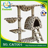 Kitten Cat Tree Scratcher Scratching Post Sisal Climbing Toy Activity Centre Bed