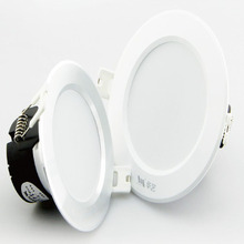 3-40W 3 colors in one fitting led dimmable downlight CE, SAA ,Rohs,UL