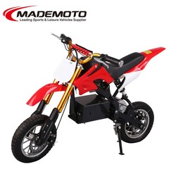 New Popular Manual Cheap China 500W Dirt Bike with electric start