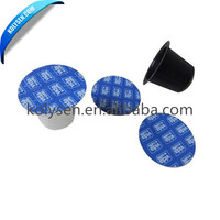 Pre-cutting laminated Lidding foil film for plastic cup
