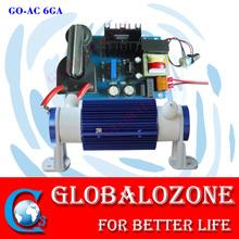 Ceramic ozone generator apparatus