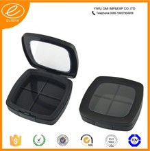 2015 Makeup empty plastic compact case plastic cosmetic packaging compact powder case