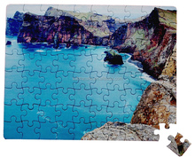 Sublimation blank paper board jigsaw puzzle A5