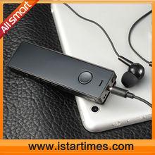 smart wireless headset ,mp3,digital voice recorder, FM, TF card slot