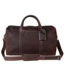 2015 mens leather oversized bag weekend bag travel bag