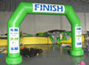 high quality and good price inflatable green finish arch
