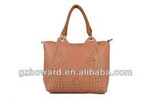 korean leather bag young fashion handbag