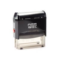 CGS Self Inking Stamp (Size:70x25mm,BLACK BODY)