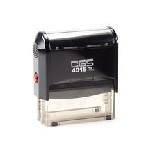 CGS Self Inking Stamp (Size:70x25mm,BLACK BODY)