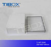 TIBOX plastic enclosure for electronic device