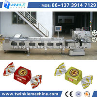 TKS-200 HIGH QUALITY DOUBLE TWIST CHOCOLATE PACKING MACHINE FOR CHOCOLATE PROCESSING