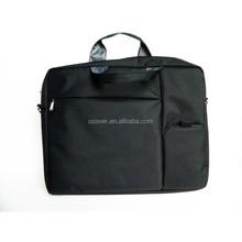 shenzhen factory 15 inch Multi-function best laptop shoulder messenger bag for laptop