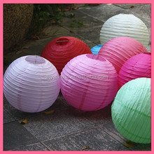 Mixed Colored Round Paper Lanterns Wholesale Manufacturers China