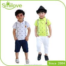 2015 hot selling cheap European kids cool polo t shirt china wholesale