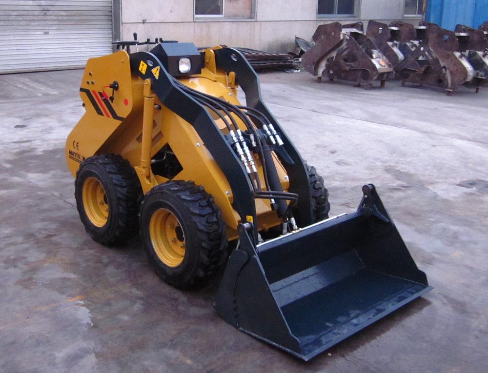 Bobcat Mini Skid Steer : Ml bobcat mini skid steer loader made with auger bits