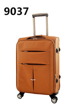 good price good quality four wheels trolley luggage from COQBV