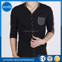 OEM supply pocket full buttons t shirts shop