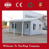 20ft European style sandwich panel prefab houses uk
