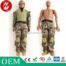 Wholesale 12 inch action figure, 1/6 plastic soldiers OEM