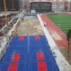 Interlocking floor tiles modular for Outdoor Basketball Court
