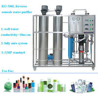 500L/H reverse osmosis system for cosmetic factory