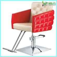 2015 new style acrylic salon chair in red for sale