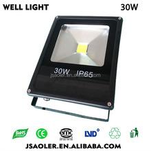 30w high power led floodlight building light led camping light