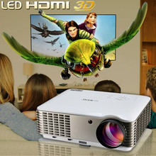 Newest Brirghtest 4500lumens Android 4.4 Native Full HD Led Digital Smart 3D Home Theater Projector