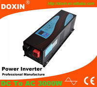 chinese new design low frequency 3000w pure sine wave inverter with ups and charger for home solar system