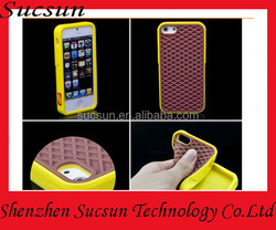 Full protective shoes sole case for iphone 5/5s/5c/6/6plus silicone cover