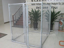Folding Welded Dog Cage for pet run playhouse with waterproof cover
