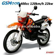 Powerful 400cc EEC cross-motorcycle