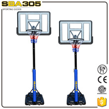 plastic basketball backboard stand post