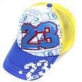Promocional cuero bordado 5 panel espuma y niños de malla gorra de béisbol del bebé gorra de camionero