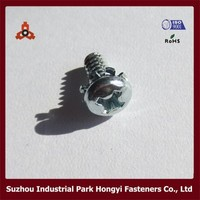 philips pan head screws with washer attached