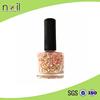 2015 JINHUA ELINE FACTORY new peel-off nail polish with glitter