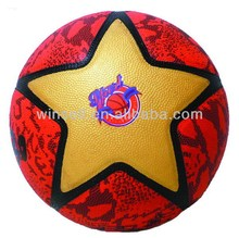 New design durable pvc toy basketball