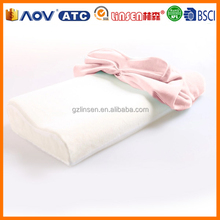 wholesale price LinSen low carbon lifestyle bamboo memory foam pillow