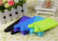 Cute fashion cell phone case for iphone 5,silicone rubber mobile phone cover for 5
