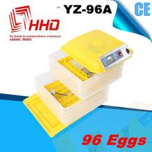 Caliente certificado CE de la venta venta al por mayor automática huevos frescos 96 huevos