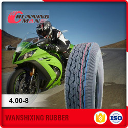 Factory Direct Cheap China Motorcycle Tyre 4.00-8